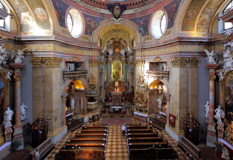 Соборы и храмы Вены