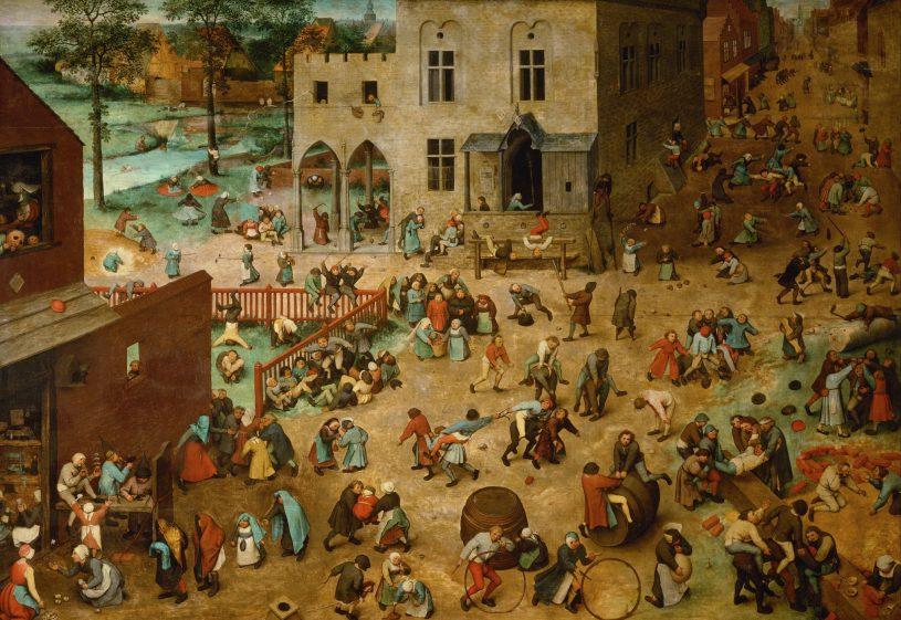 Живопись_Питер-Бреигель-Старшии_Детские-игры-1560